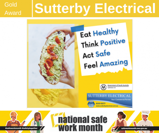 Sutterby Electrical safe work month competition entry