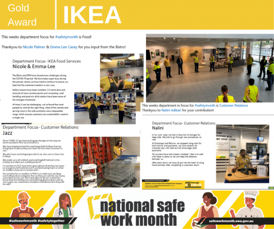 Ikea national safe work month competition entry