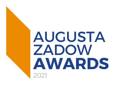 Augusta Zadow Awards 2021 logo